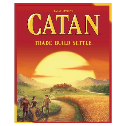 SETTLERS OF CATAN NEW VERSION BOARD GAME