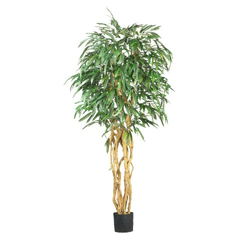 Faux Plant - Weeping Ficus Tree 6 ft.