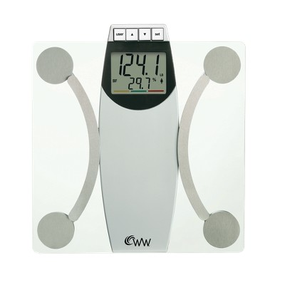 Weight Watchers® Body Analysis Scale - White/Chrome