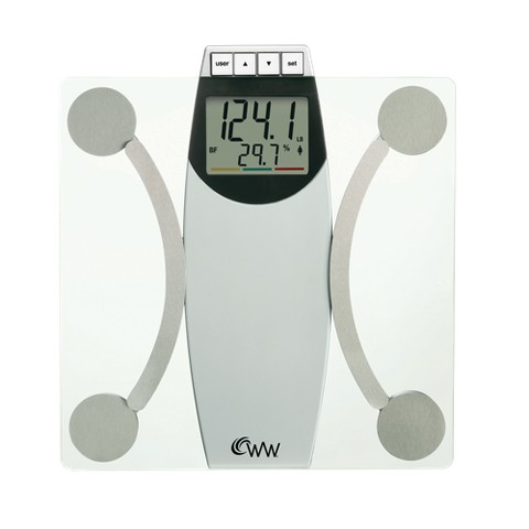 Weight Watchers® Body Analysis Scale - White/Chrome