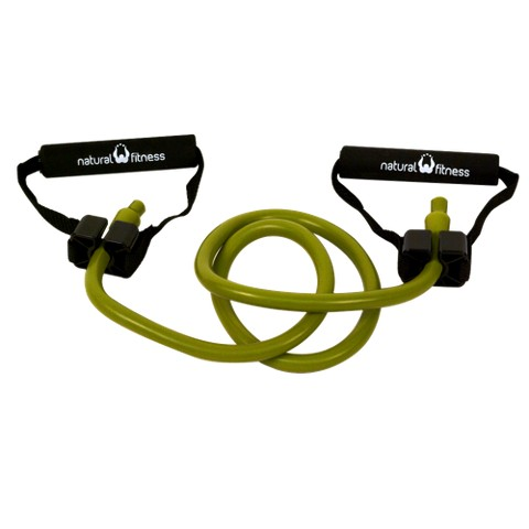 Natural Fitness Professional Resistance Tube - Medium, Moss