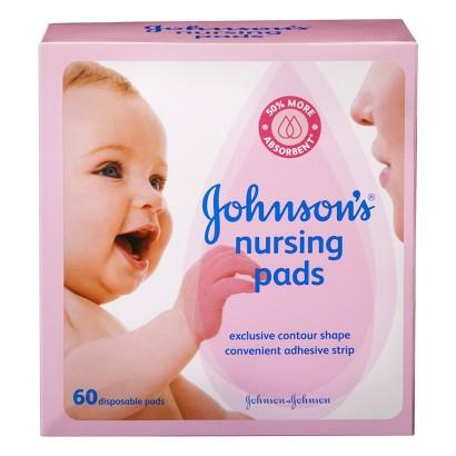 Johnson's Nursing Pads- 60 Ct