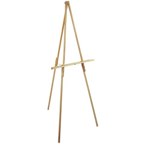 "Natural Wood Floor Easel-65"" High : Target"