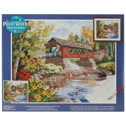 """Paint by Number Kit - Country Thoroughfare (16x20"""")"""