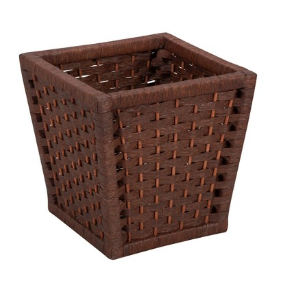 Household Essentials Paper Rope Waste Basket