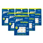 Mack's Pillow Soft Adult Silicone Earplugs - 6 Pack (36 Count each)