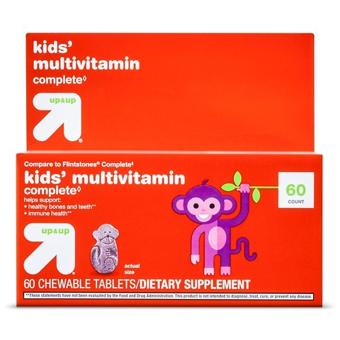 up & up™ Children's Multivitamin Chewable Tablets - 60 Count