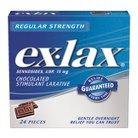Ex-Lax® Regular Strength Stimulant Laxative - Chocolate (24 Pieces)