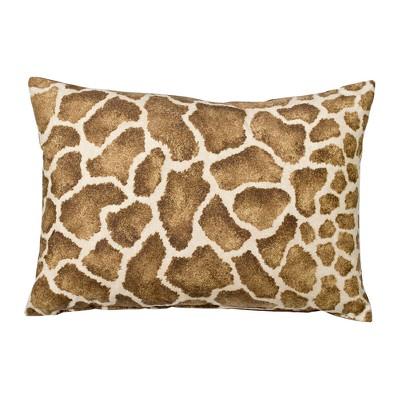 Giraffe Decorative Lumbar Pillow -14x20