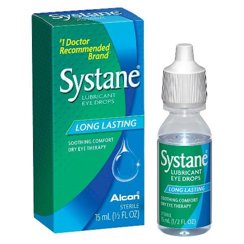 Systane Long Lasting Dry Eye Lubricant EyeDrops - 0.51 oz