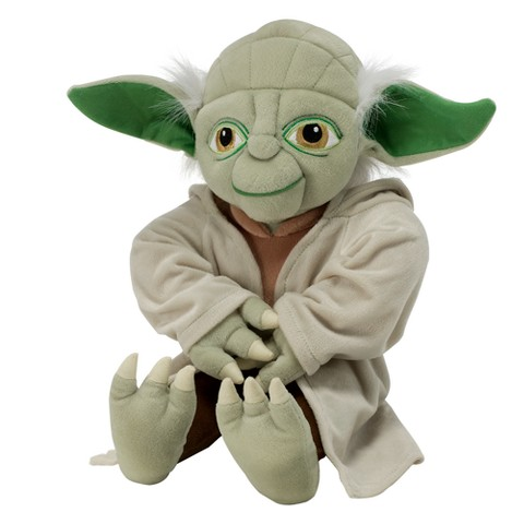 Star Wars Yoda Clone Wars Plush Pillow
