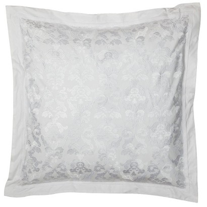 Simply Shabby Chic® Elegant Embroidered Euro Sham Pillow - White
