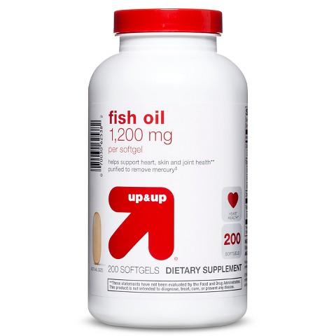 up & up™ Fish Oil 1200 mg Softgels
