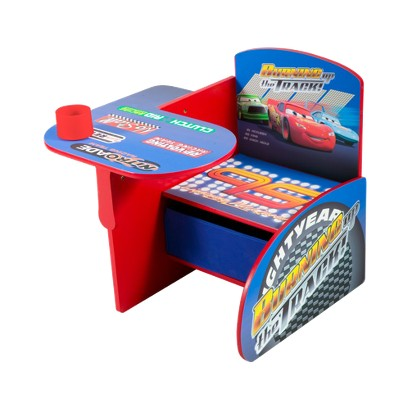 Delta Children's Products Chair Desk with Storage Bin - Disney Cars