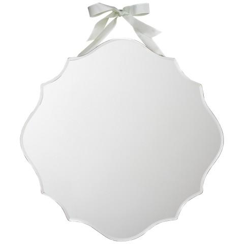 Beveled Hanging Mirror