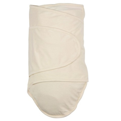 Miracle Blanket Solid Print Baby Swaddle - Beige