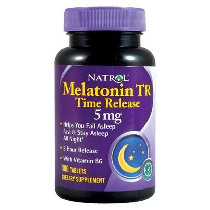Natrol Melatonin TR 5mg-100 Tablets
