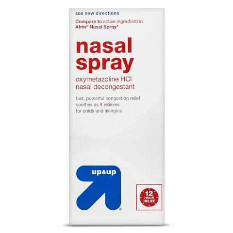 Nasal Decongestant 12 hour Nasal Spray 1 oz - up & up™