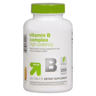 up&up High Potency Vitamin B Complex Tablets - 250 Count