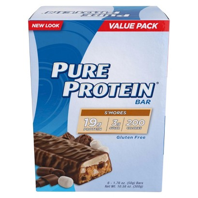 Pure Protein® S'mores Bar - 6 Count (1.76 oz each)