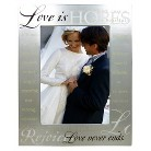 Love Is Frame - Silver 5x7