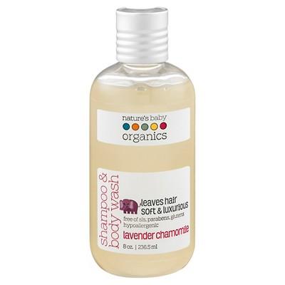 Nature's Baby Organics Shampoo & Body Wash (Lavender/Chamomile)-8 oz.