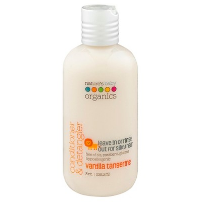 Nature's Baby Organics Conditioner & Detangler (Vanilla/Tangerine) -8 oz.