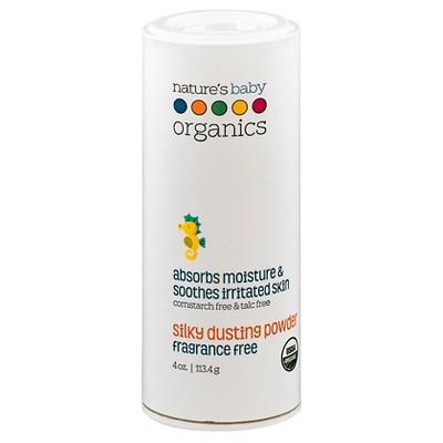 Nature's Baby Organics Silky Dusting Powder - 4 oz.