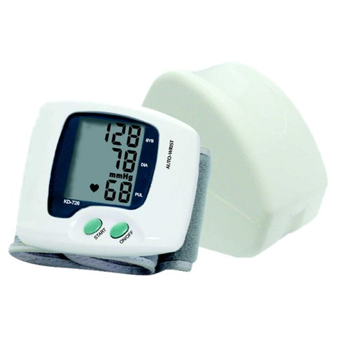 Anova Medical Large LCD Display Automatic Digital Wrist Cuff Blood Pressure Monitor AM-741