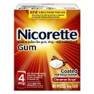 Nicorette 4mg Cinnamon Surge Coated Gum