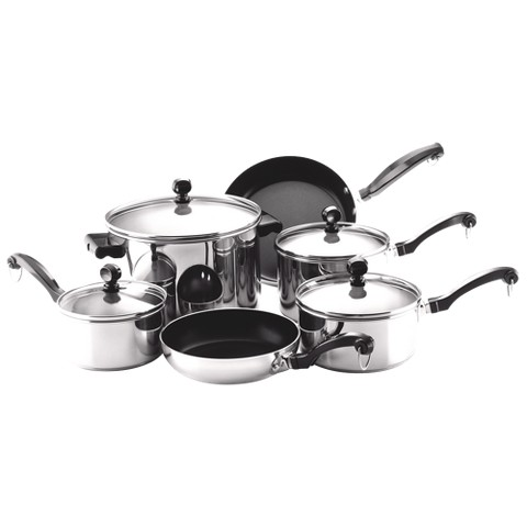 Farberware Classic 10 Piece Cookware Set