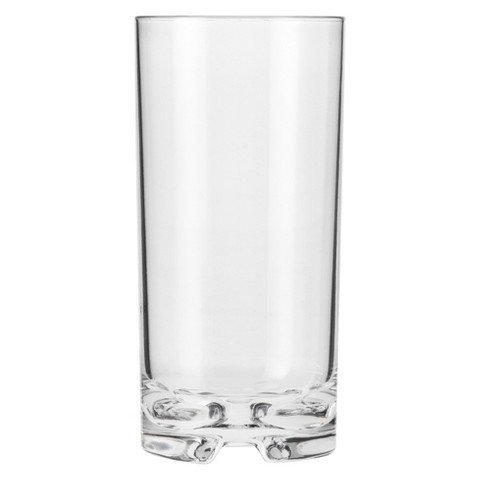 Polycarbonate Tall Cooler Glass Set of 6