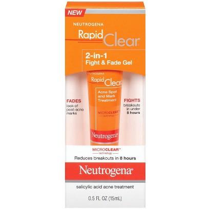 Neutrogena Rapid Clear 2-in-1 Fight & Fade Gel