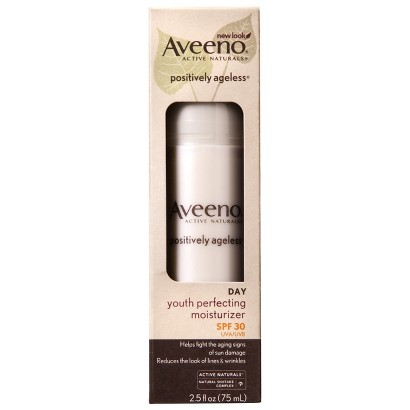 Aveeno Positively Ageless Youth Perfecting Moisturizer Broad Spectrum SPF 30