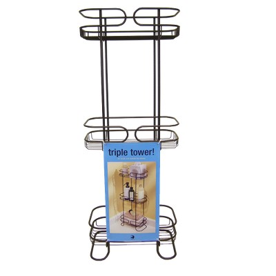 Bath Storage Rack Bronze Interdesign