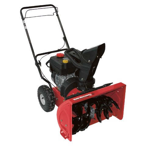 """Yard Machines Compact 2-Stage Snow Thrower - 22"""""""