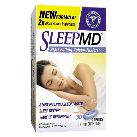 Sleep MD® Dietary Supplement Caplets - 30 Count