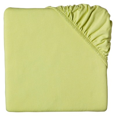 Circo™ Knit Fitted Crib Sheet - Lime
