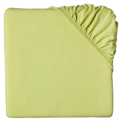 Circo® Fitted Crib Sheet- Green