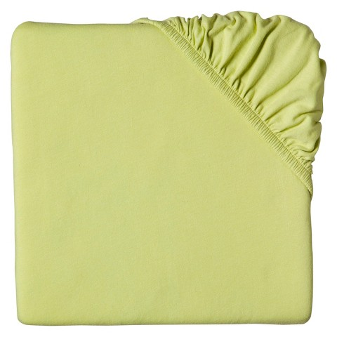Circo® Knit Fitted Crib Sheet - Lime