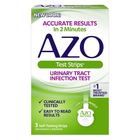AZO UTI Test Strip - 3 Count