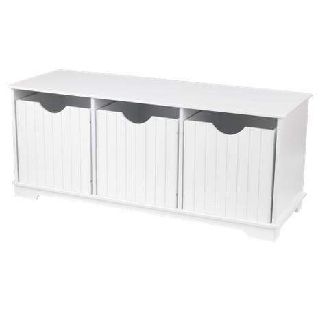 Kidkraft Nantucket Storage Bench - White
