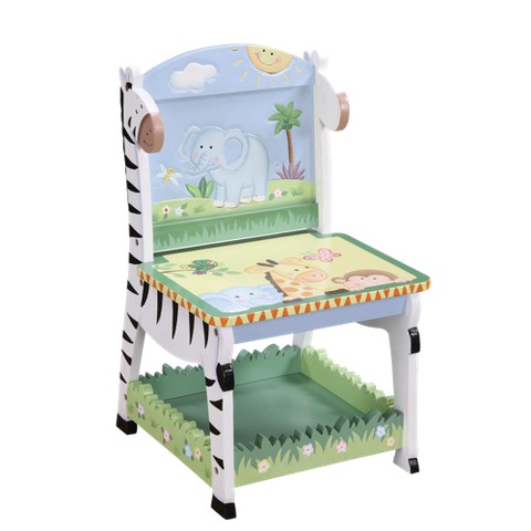 Teamson Sunny Safari Chair - Green/ Yellow