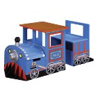 Teamson Train Writing Table - Blue/Red