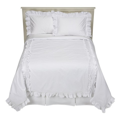 Simply Shabby Chic® Heirloom White Comforter