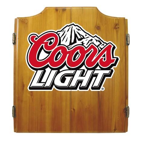 Coors Light Dart Cabinet