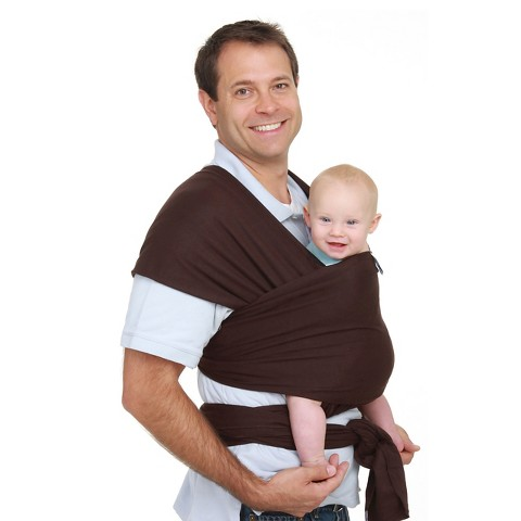 Moby Wrap Baby Carrier - Chocolate