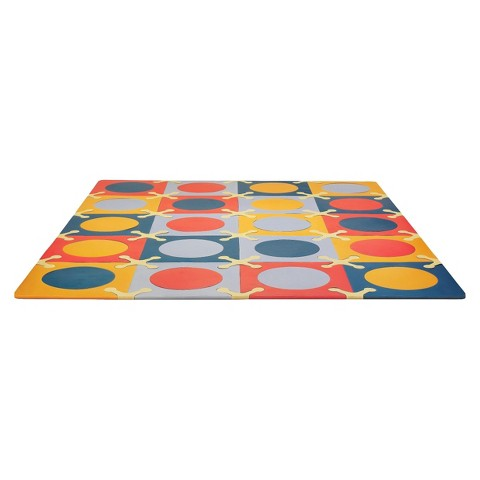 Skip Hop Playspot Foam Floor Tiles - Brights