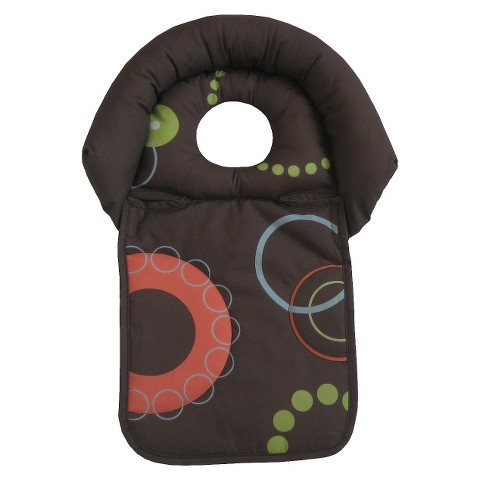 Boppy Head Support for Strollers and Carriers - Brown