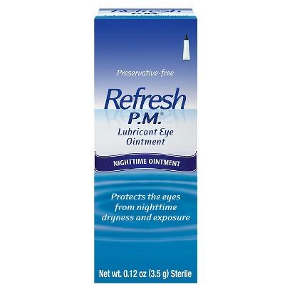 Refresh P.M.® Lubricant Eye Ointment - 0.12 oz